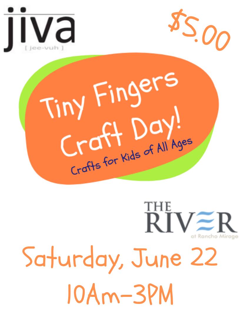 Tiny Fingers Kids Crafts Saturdays Coachella Valley Kids